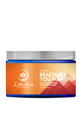 Beach All You Want Bath and Shower Sugar Exfoliant