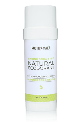 Lemongrass Gardens (Baking Soda Free) Natural Deodorant