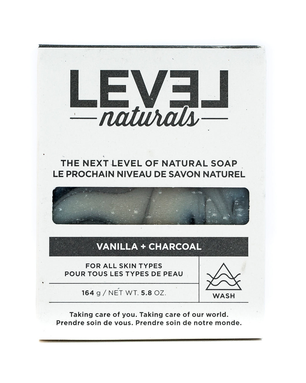 Vanilla + Charcoal Bar Soap