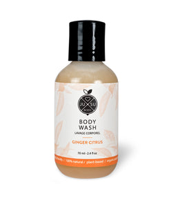 Ginger Citrus Travel Body Wash