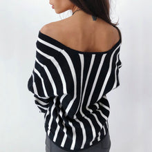 Load image into Gallery viewer, Women Casual Long Sleeve V Neck Blouse