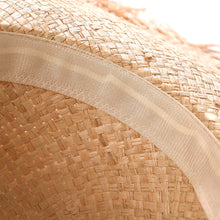 Load image into Gallery viewer, Lace Straw Hat