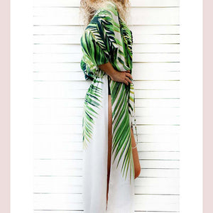 Cotton Beach Cover up Print