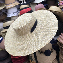 Load image into Gallery viewer, Natural Wheat Straw Hat