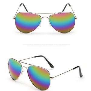 Pilot Mirror Sunglasses
