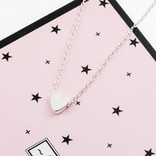Load image into Gallery viewer, Small Heart Choker Necklace