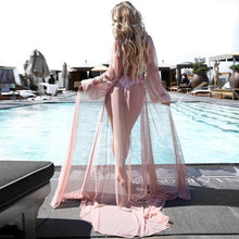 Load image into Gallery viewer, Chiffon See-Through Beach Dress