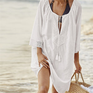Cotton Tunics Swimsuit Cover Up