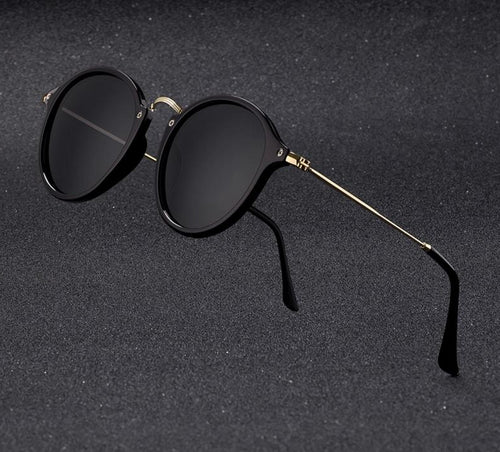 Round Retro Sunglasses