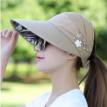 Load image into Gallery viewer, Women Visors Beach Hat