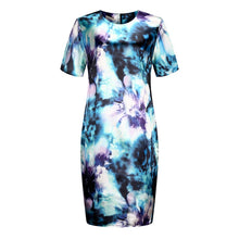 Load image into Gallery viewer, O Neck Floral Casual Dress