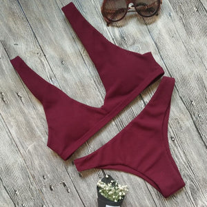 Bandage Push Up Padded Swimsuit