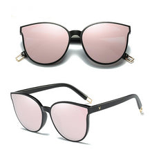Load image into Gallery viewer, Luxury Flat Top Cat Eye Sunglasses