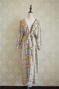 Cotton Long Beach Dress