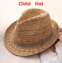 Load image into Gallery viewer, Handmade Weave Summer Hat