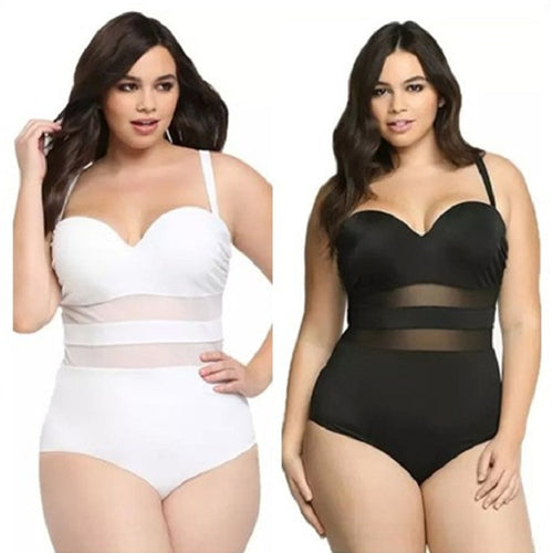 Sexy One Piece Plus Size Swimwear