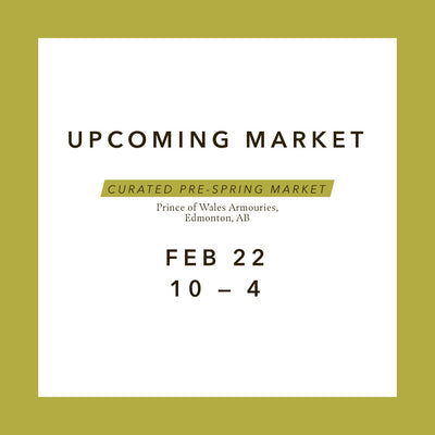 MARKET \\ Curated Pre-Spring Market 2020