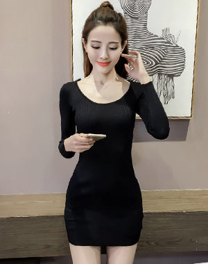 Image of Woman Short Dress ep-B3082