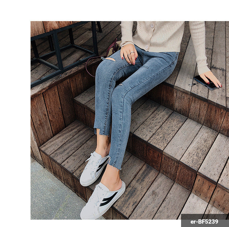 Image of Woman Jeans er-BF5239