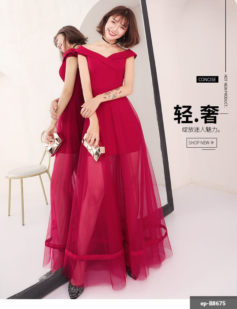 Women Long Dress en-B8675