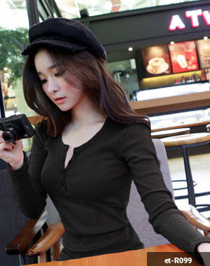 Woman Long Sleeve Shirt et-R099