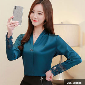 Woman Long Sleeve Shirt VSA-e01808