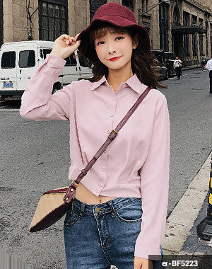 Woman Long Sleeve Shirt er-BF5223