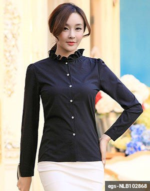 Women Long Sleeve Shirt egs-NLB102868