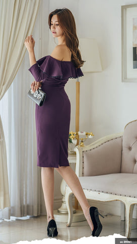 Image of Women Short Dress en-B9061