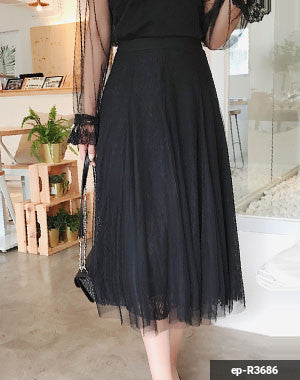 Woman Long Skirt ep-R3686