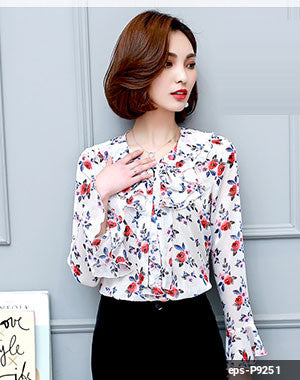 Women Long Sleeve Shirt eps-P9251