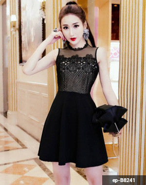 Woman Short Dress ep-B8241