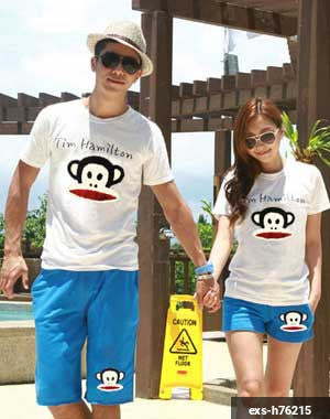 Couple Shorts Suit exs-h76215