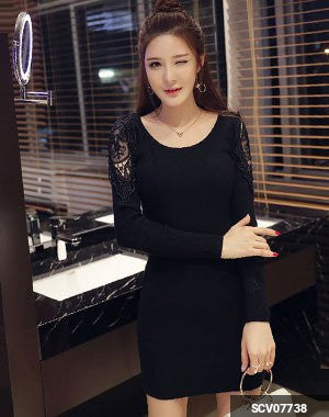 Image of Woman Short Dress SCV07738