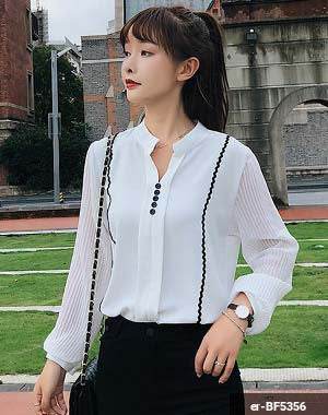 Woman Long Sleeve Shirt er-BF5356