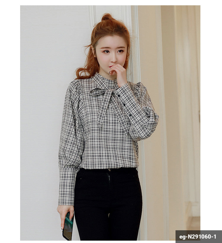 Image of Women Long Sleeve Shirt eg-N291060-1