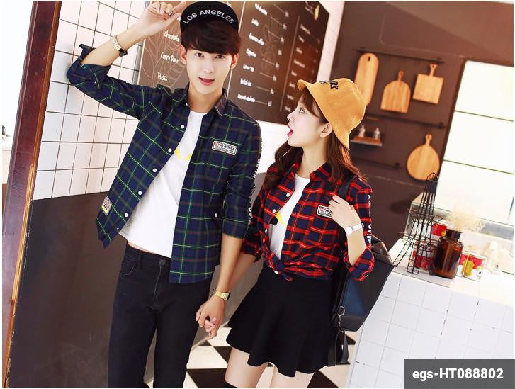 Couple Long Sleeve Shirt egs-HT088802