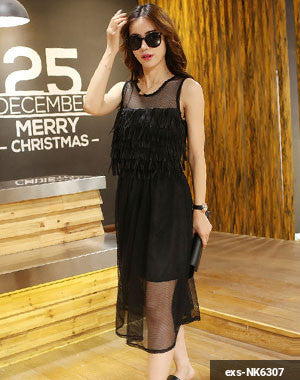 Women Long Dress exs-NK6307