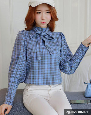 Women Long Sleeve Shirt eg-N291060-1