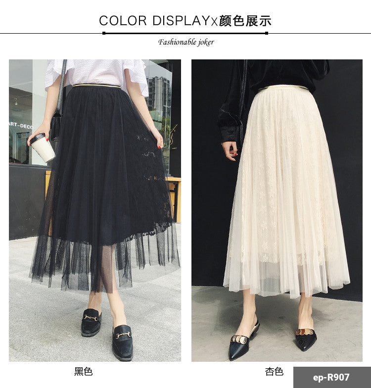 Woman Long Skirt ep-R907