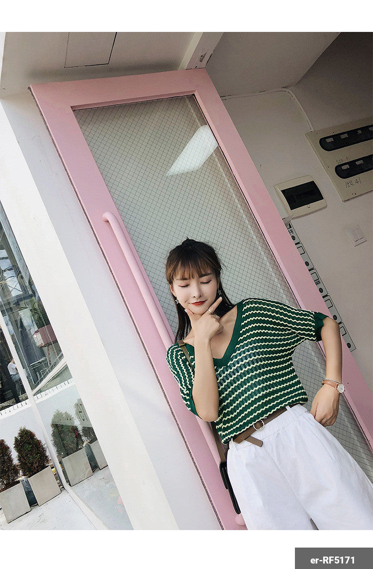 Woman Short Sleeve Shirt er-RF5171