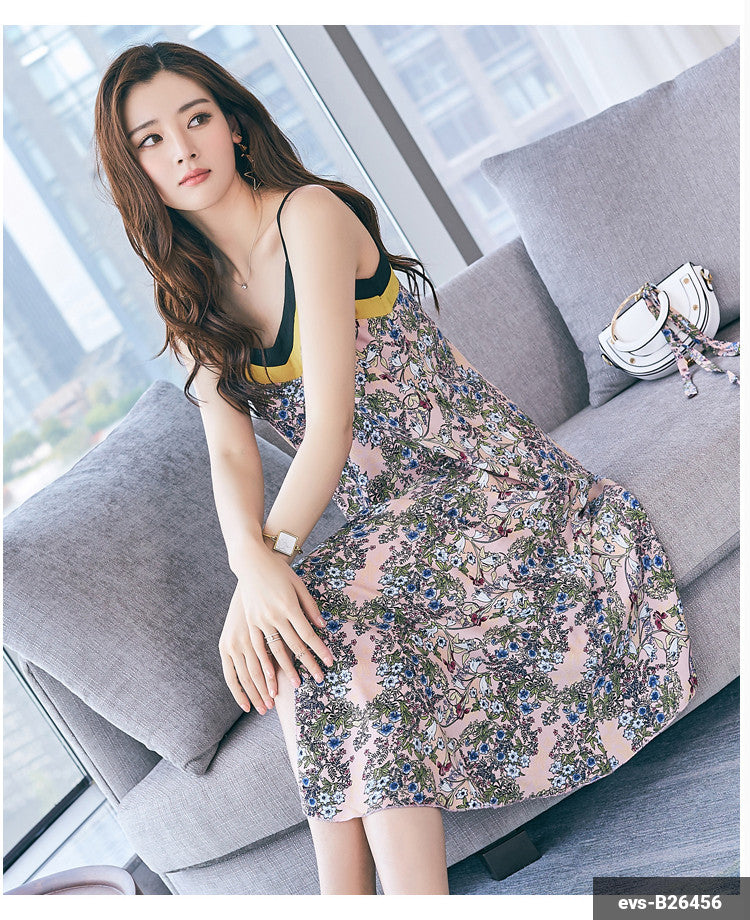 Woman Long Dress evs-B26456