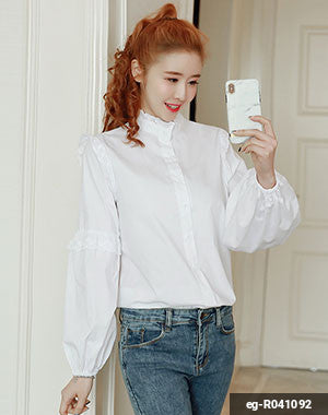 Woman Long Sleeve Shirt eg-R041092