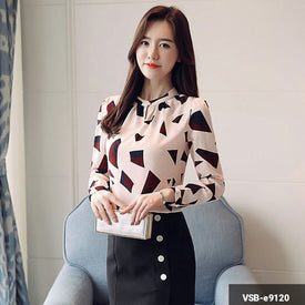 Woman Long Sleeve Shirt  VSB-e9120