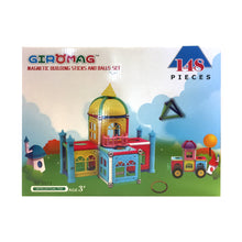 Load image into Gallery viewer, Giromag Magnetic Castle 148 Pcs (T2)