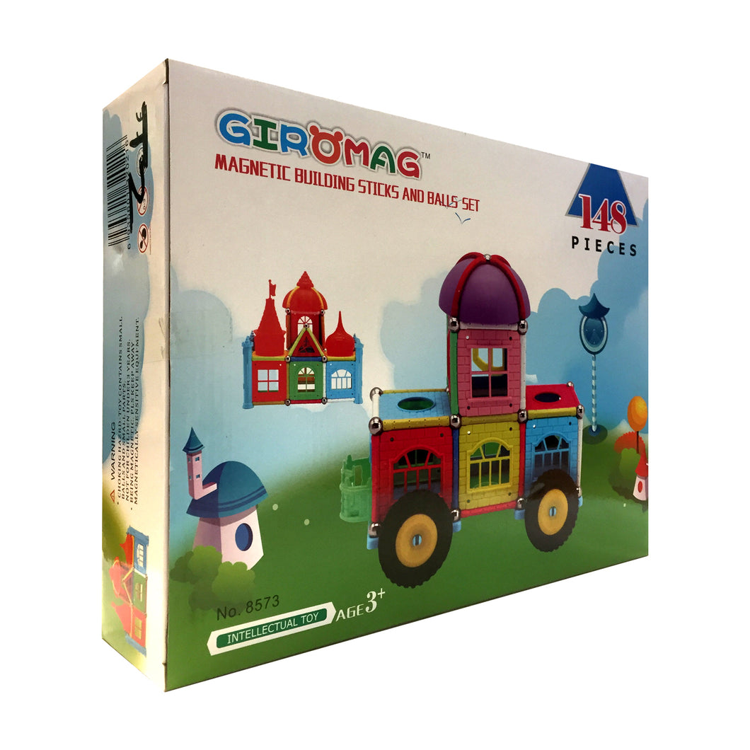 Giromag Magnetic Castle 148 Pcs (T2)
