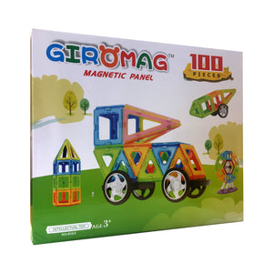 Giromag 100pcs Magnetic Building Panels (T3)