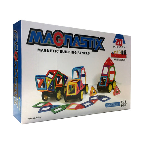 Magnastix Magnetic Building Panels 20 Pcs (T8305)
