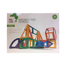 Load image into Gallery viewer, Kids & Co. Magnetic Tiles 50 Pieces