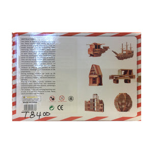 Happy Blocks 106 pcs (T8400)